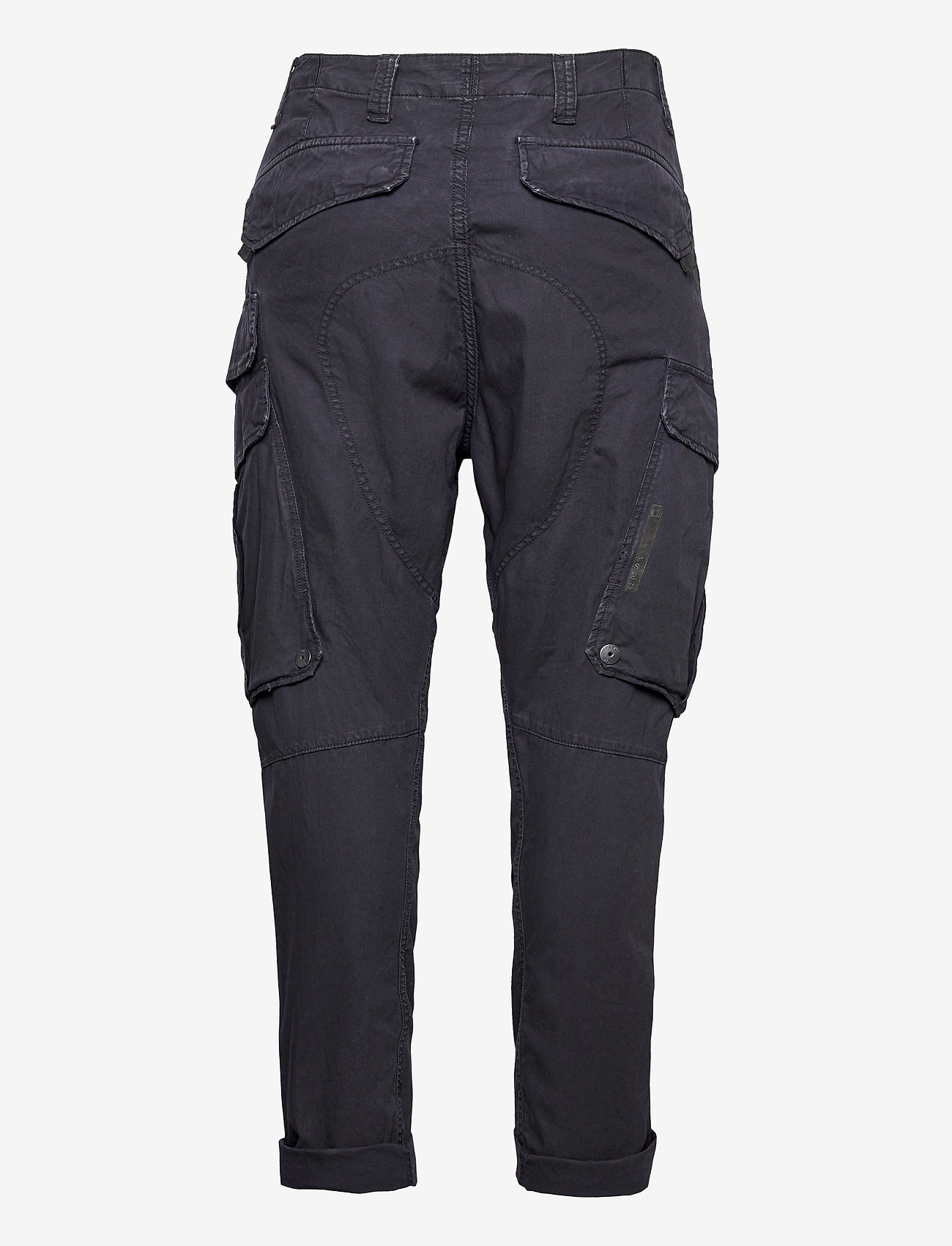 G-star RAW - Droner relaxed tapered cargo pant - cargobukser - sartho blue wave dyed - 1