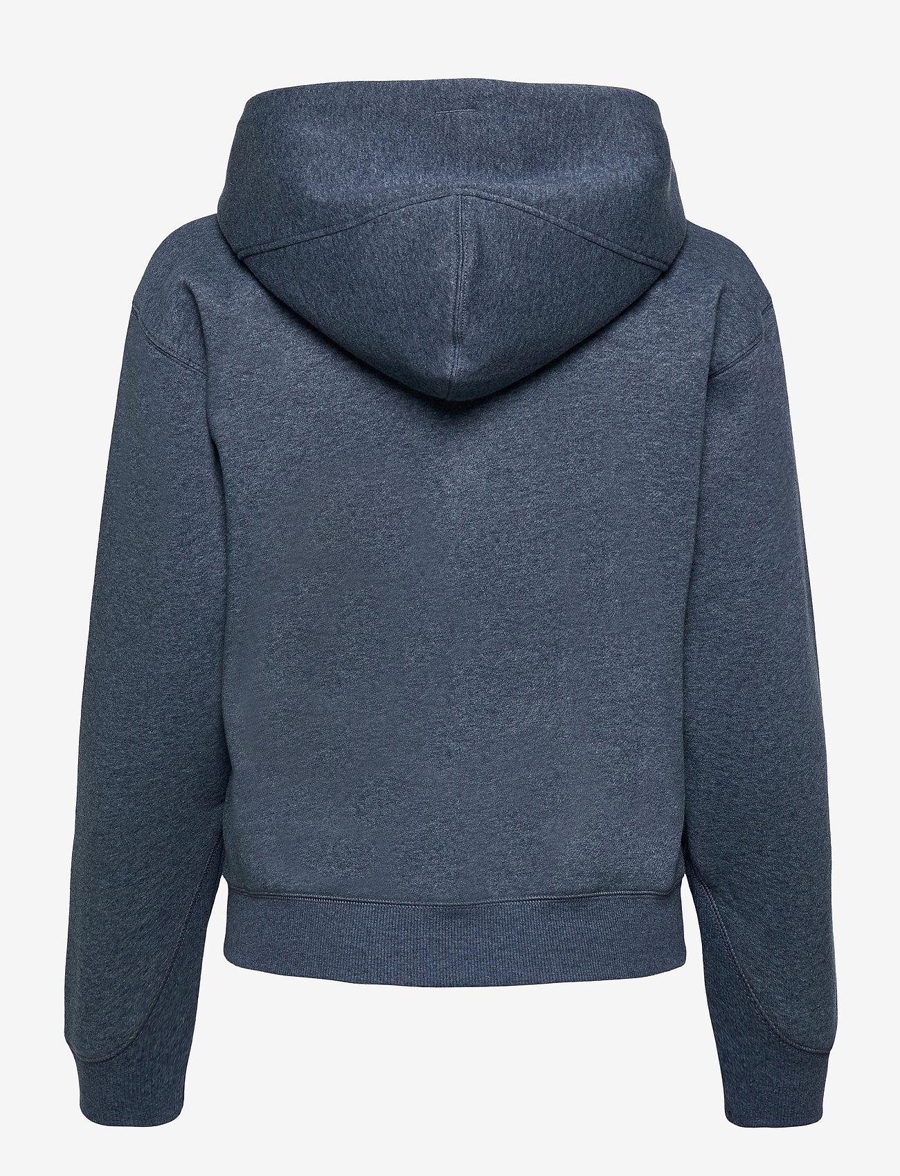G-star RAW - Premium core hdd zip thru sw wmn l- - hoodies - worn in kobalt htr - 1