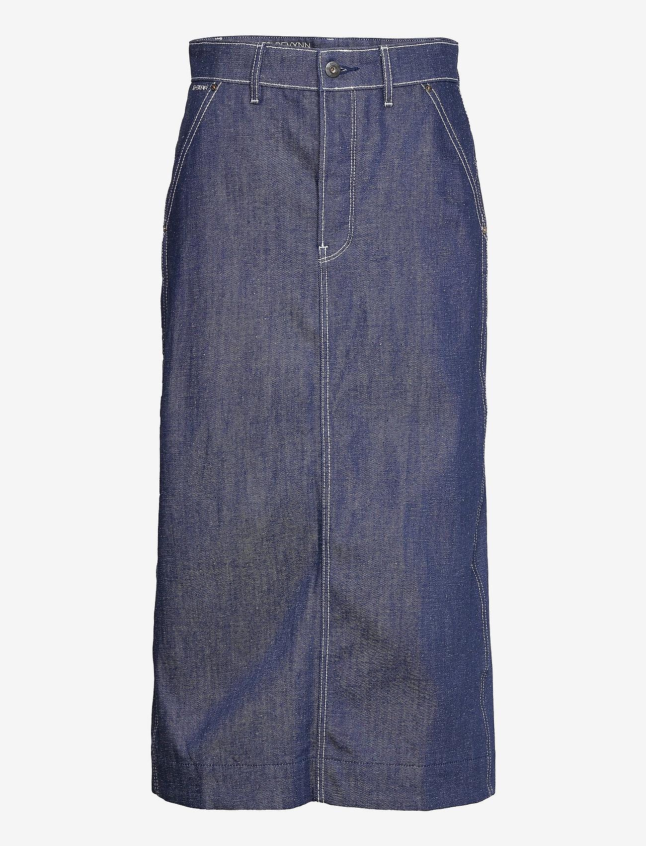 G-star RAW - New Revynn Ultra High Skirt C - jeansrokken - raw denim - 0
