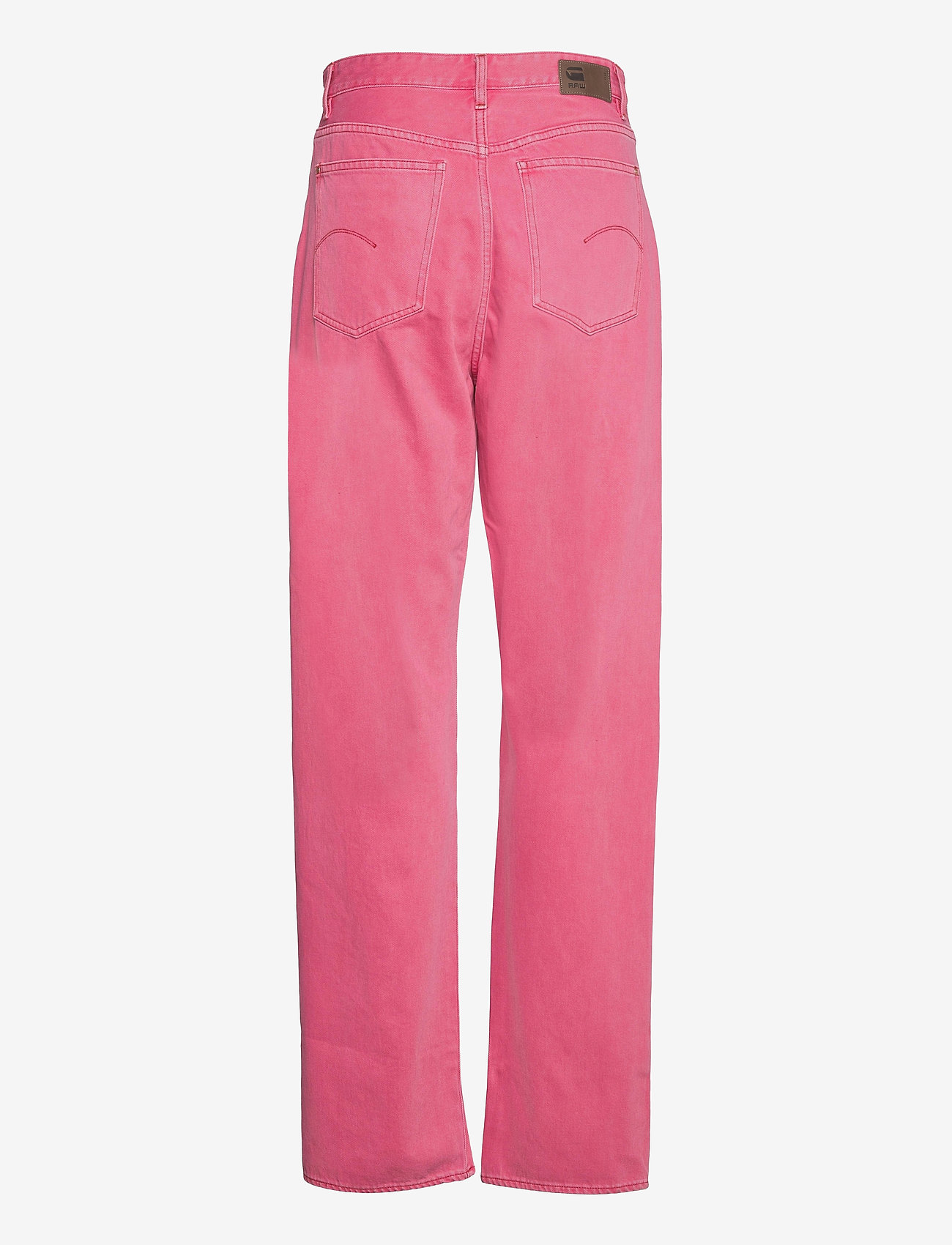 G-star RAW - Tedie Ultra High Long Straight Wmn - straight regular - recycrom petunia pink gd - 1