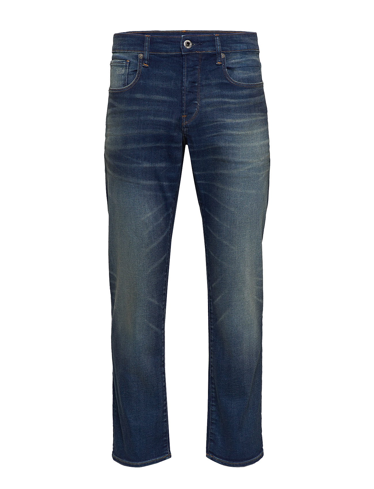 G-star RAW 3301 Straight - WORKER BLUE FADED