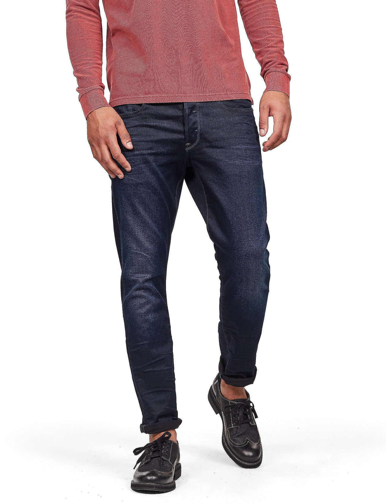 G-star RAW - 3301 Tapered - regular jeans - dk aged - 0