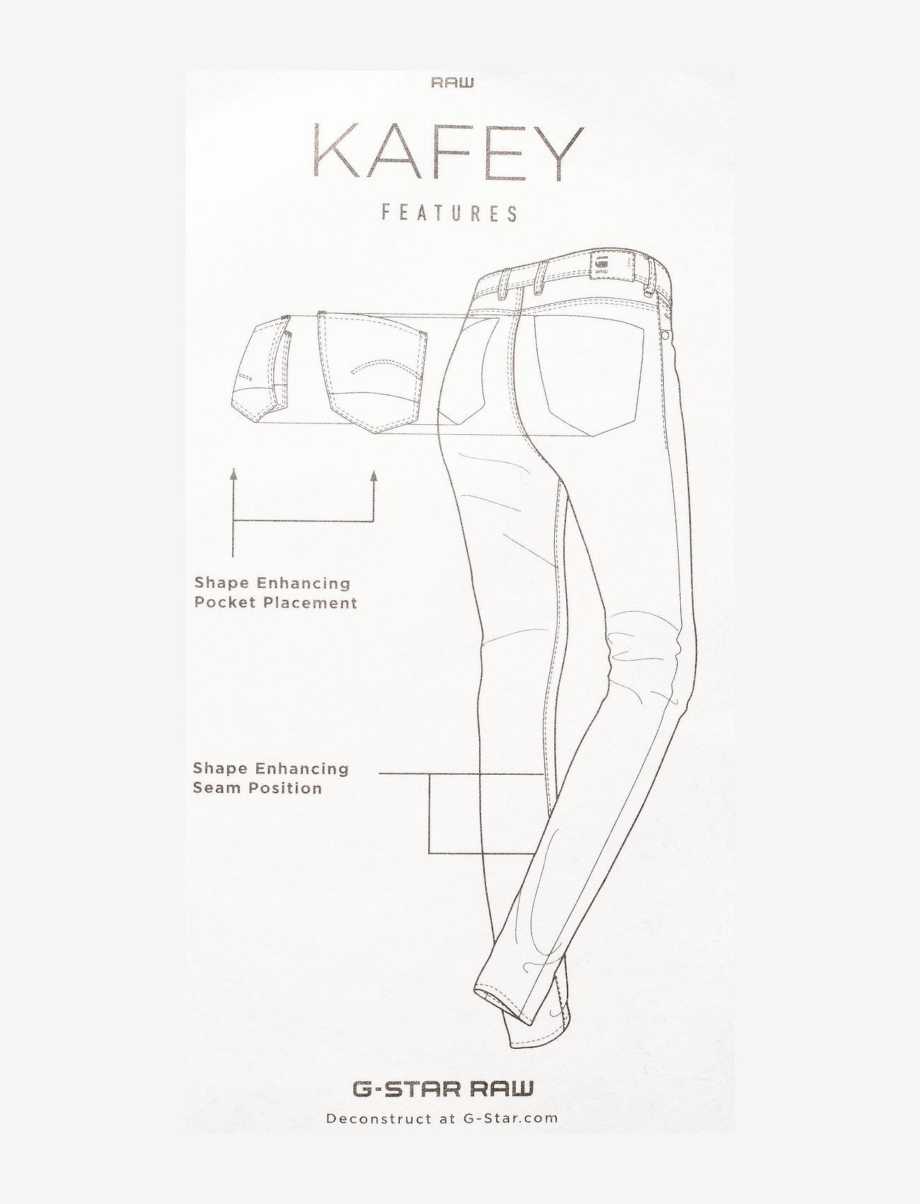 G-star RAW - Kafey Ultra High Skinny Wmn - skinny jeans - faded neptune blue - 2