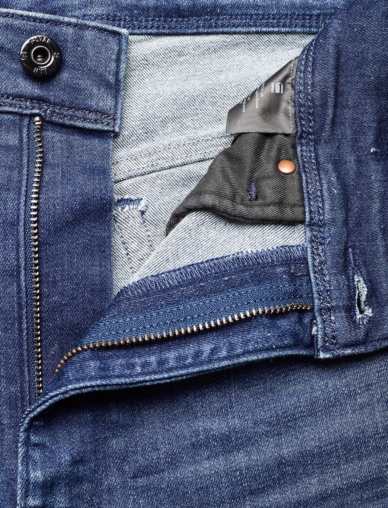 G-star RAW - Kafey Ultra High Skinny Wmn - skinny jeans - faded neptune blue - 4