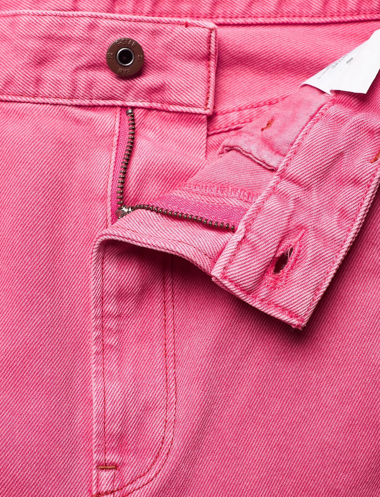G-star RAW - Tedie Ultra High Long Straight Wmn - straight regular - recycrom petunia pink gd - 2