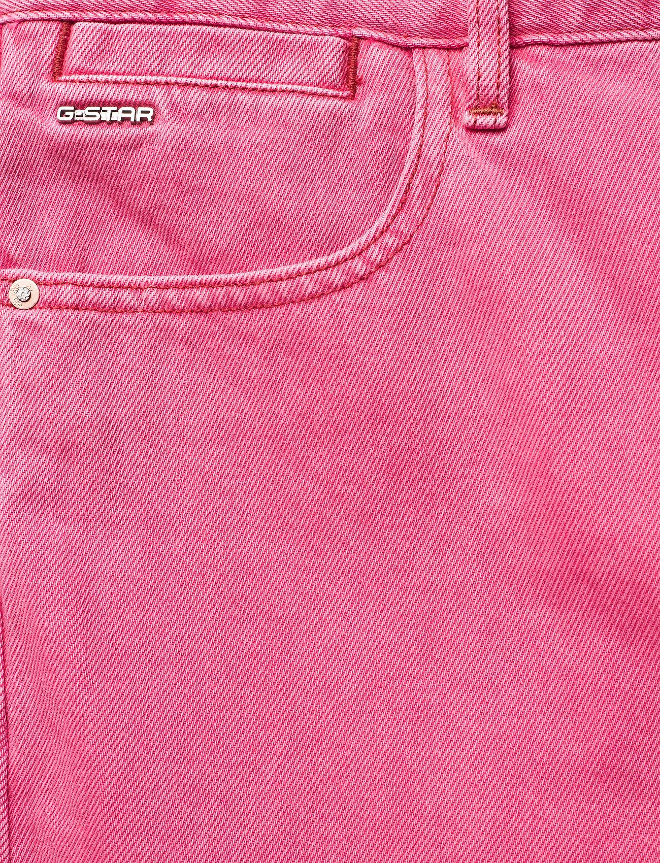 G-star RAW - Tedie Ultra High Long Straight Wmn - straight regular - recycrom petunia pink gd - 3