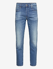 3301 Straight - AUTHENTIC FADED BLUE