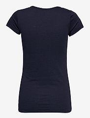 G-star RAW - Eyben slim v t wmn s\s - t-shirts - sartho blue - 1