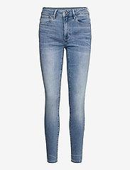 G-star RAW - 3301 High Skinny Wmn - skinny jeans - lt indigo aged - 0
