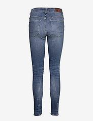 G-star RAW - 3301 High Skinny Wmn - skinny jeans - medium indigo aged - 2