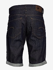 G-star RAW - 3301 1\2 - denim shorts - 3d raw denim processed - 1