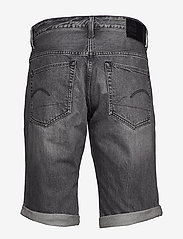 G-star RAW - 3301 1\2 - denim shorts - sun faded black stone - 1