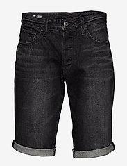 G-star RAW - 3301 1\2 - denim shorts - worn in black stone - 0