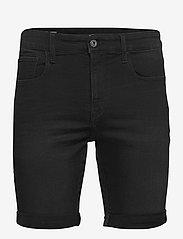G-star RAW - 3301 Slim short - denim shorts - worn in meteor - 0