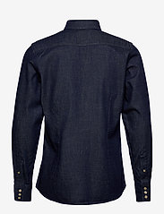 G-star RAW - 3301 slim shirt l\s - peruspaitoja - rinsed - 1