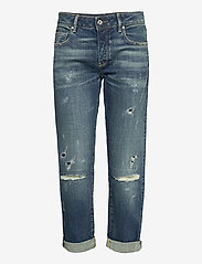 G-star RAW - Kate Boyfriend Wmn C - boyfriend jeans - faded ripped atlas - 0