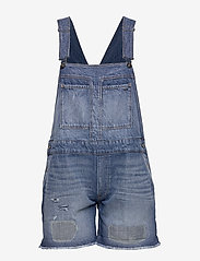 G-star RAW - Faeroes bf Short Overall rp tu Wmn - jumpsuits - faded ripped shore - 2