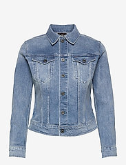 G-star RAW - 3301 Slim Jacket - spijkerjassen - sun faded stone - 0