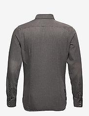 G-star RAW - 3301 slim shirt l\s - peruspaitoja - faded dust grey - 1
