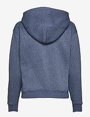 G-star RAW - Premium core hooded sw wmn l\s - hoodies - worn in kobalt htr - 1