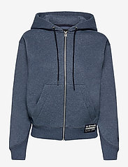 G-star RAW - Premium core hdd zip thru sw wmn l- - hoodies - worn in kobalt htr - 0