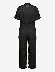 G-star RAW - Field straight jumpsuit wmn s\s - jumpsuits - dk black - 1