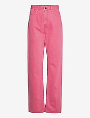 G-star RAW - Tedie Ultra High Long Straight Wmn - straight regular - recycrom petunia pink gd - 0