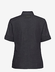G-star RAW - Officer shirt wmn s\s - overhemden met korte mouwen - rinsed - 1
