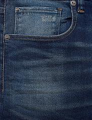 G-star RAW - 3301 Straight - regular jeans - worker blue faded - 2