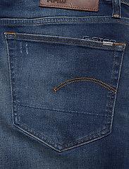 G-star RAW - 3301 Straight - regular jeans - worker blue faded - 4