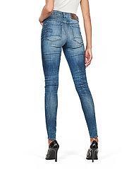G-star RAW - 3301 High Skinny Wmn - skinny jeans - medium indigo aged - 3