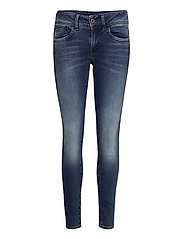 Lynn Mid Skinny Wmn NEW - ANTIC BLUE