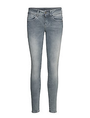 Lynn Mid Skinny Wmn NEW - FADED INDUSTRIAL GREY