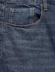 G-star RAW - 3301 1\2 - denim shorts - worn in blue stone - 2