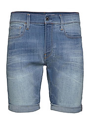 3301 Slim short - VINTAGE STRIKING BLUE