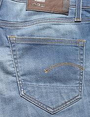 G-star RAW - 3301 Slim short - denim shorts - vintage striking blue - 4