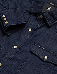G-star RAW - 3301 slim shirt l\s - peruspaitoja - rinsed - 2