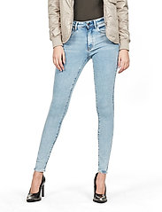 G-star RAW - Lhana High Super Skinny Wmn - skinny jeans - sun faded iceberg - 0