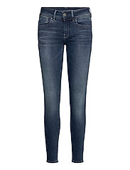 Lynn Mid Super Skinny Wmn - FADED BLUE