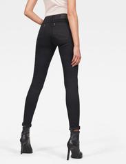 G-star RAW - Lynn Mid Super Skinny Wmn - skinny jeans - pitch black - 3