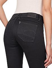 G-star RAW - Lynn Mid Super Skinny Wmn - skinny jeans - pitch black - 4