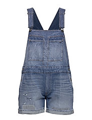 Faeroes bf Short Overall rp tu Wmn - FADED RIPPED SHORE