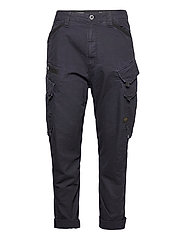 Droner relaxed tapered cargo pant - SARTHO BLUE WAVE DYED