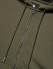 G-star RAW - Premium core hdd zip thru sw wmn l- - hoodies - combat - 2