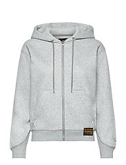 Premium core hdd zip thru sw wmn l- - GREY HTR