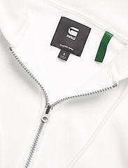 G-star RAW - Premium core hdd zip thru sw wmn l- - hoodies - milk - 2