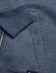 G-star RAW - Premium core hdd zip thru sw wmn l- - hoodies - worn in kobalt htr - 3