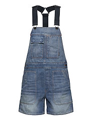Utility bf Short Overall Wmn - SUN FADED CRYSTAL LAKE