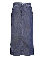 New Revynn Ultra High Skirt C - RAW DENIM