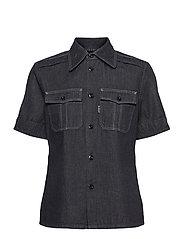 Officer shirt wmn s\s - RINSED